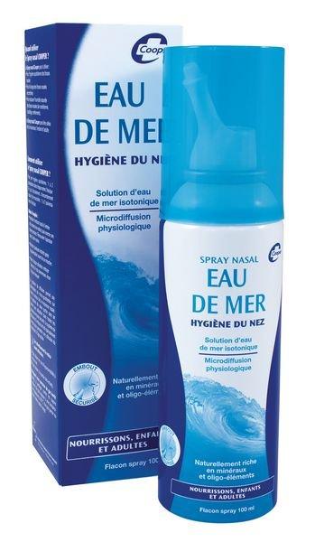 Spray nasal contre rhume et sinusite - Securimed