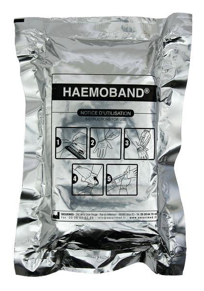 Coussin hémostatique Haemoband® - Pansements compressifs et hémostatiques