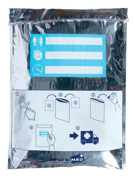 Refripocket : pochette isotherme pour membre sectionné - Securimed