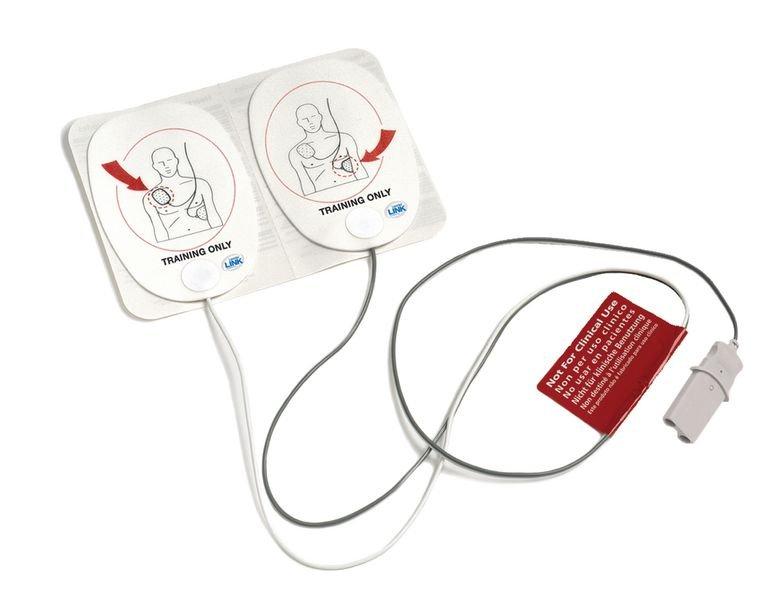 Electrodes adulte pour défibrillateur de formation Trainer 3