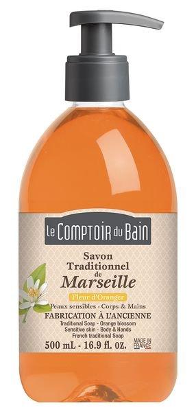 Savon de Marseille parfumé en flacon pompe 500 ml