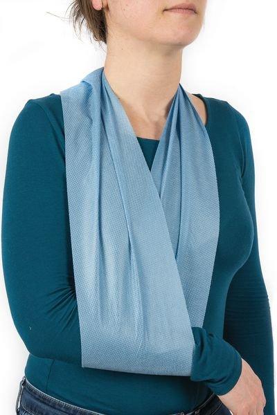 Echarpe triangulaire bleue non tissée - Securimed