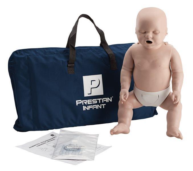 Mannequin de secourisme Prestan bébé avec moniteur