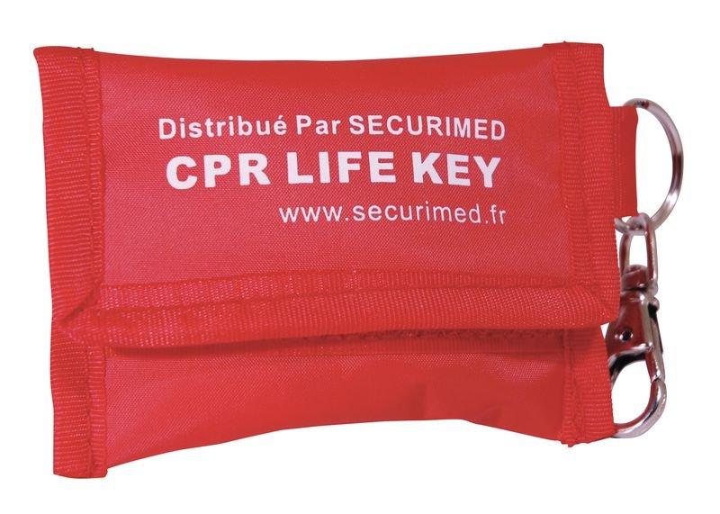 Masque bouche-à-bouche Réa Airmed Plus avec porte-clés et gants