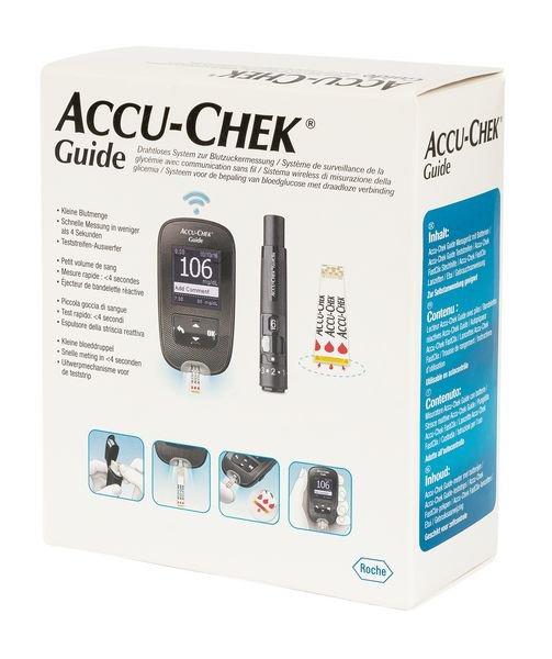 Lecteur de glycémie Accu Chek® Guide - Glycémie
