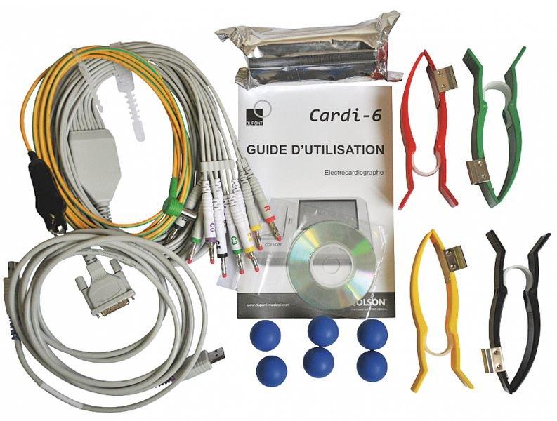 ECG Colson Cardi-6 6 pistes - ECG et dopplers