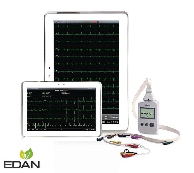 ECG Edan connecté PADECG 12 pistes avec ou sans tablette