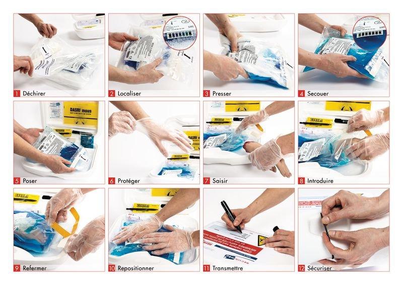 Refrimed® Plus mains-doigts coupés - Refrimed : récupération et transport de membres coupés