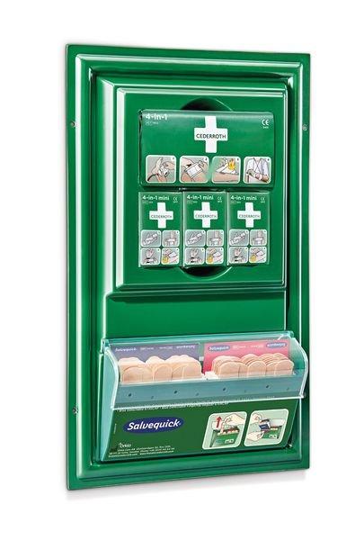 Tableau de premiers secours garni compact - Securimed