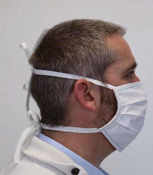 Masques lavables en tissu à usage non sanitaire lot de 100 - Securimed