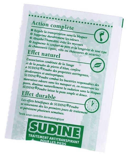 Sudine poudre, 100 sachets doubles - Securimed
