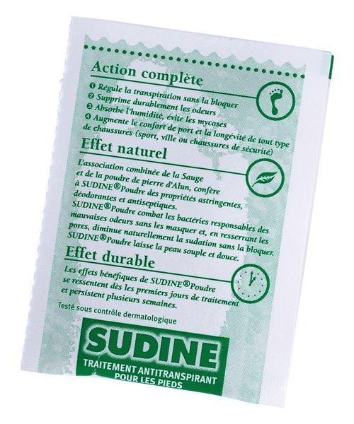 Sudine poudre, 6 sachets doubles - Securimed
