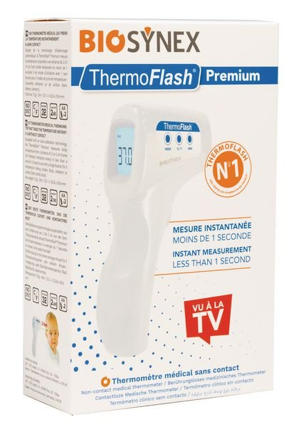 Thermomètre sans contact Thermoflash Premium - Securimed