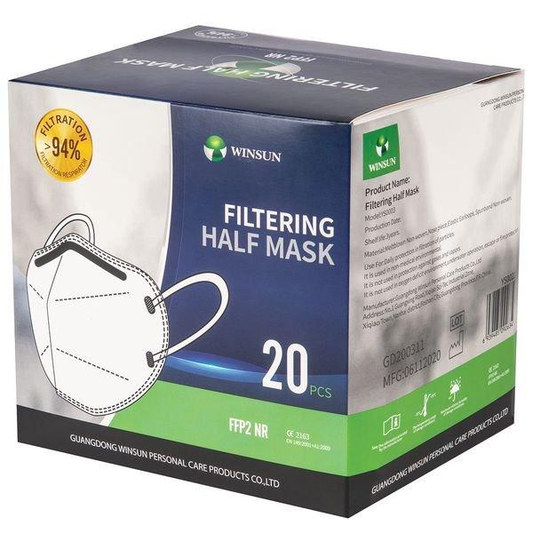 Masque coque FFP2 NR