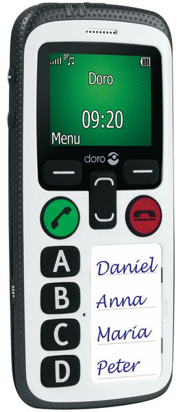Téléphone mobile d'urgence DORO