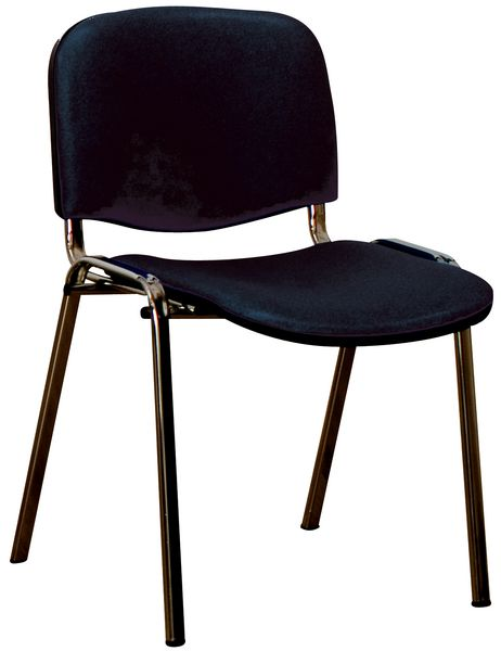 Chaise d'accueil empilable