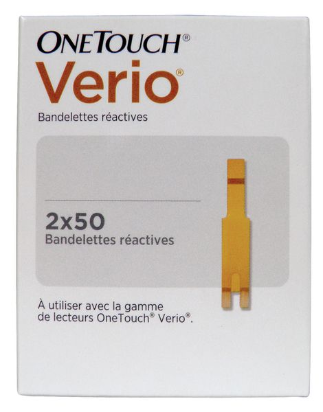Accessoires pour lecteurs de glycémie One Touch® Verio®