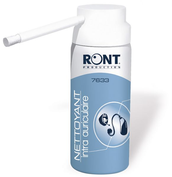 Spray nettoyant pour intra-auriculaires