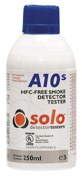 Aérosol de test pour détecteur de fumée