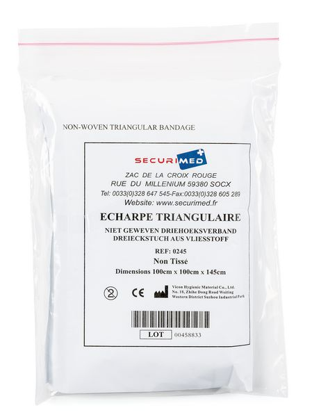 Echarpe triangulaire de maintien