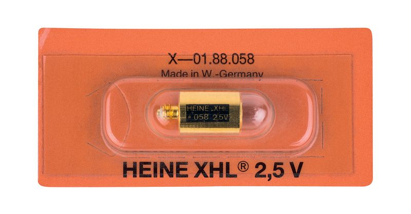 Ampoule Heine 2.5 v 058
