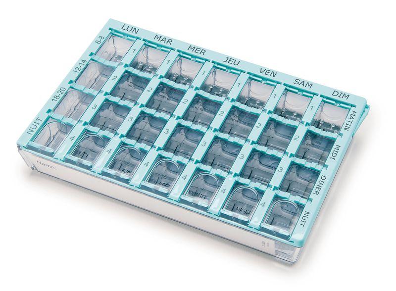 Pilulier semainier Dosett Medi