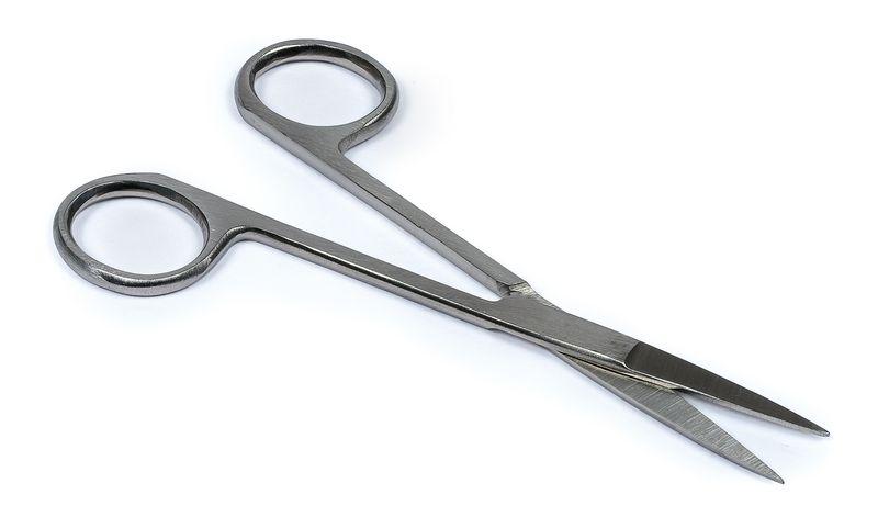 Ciseaux iridectomie stériles