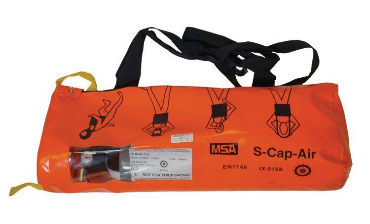 Appareil respiratoire complet S-Cap-Air