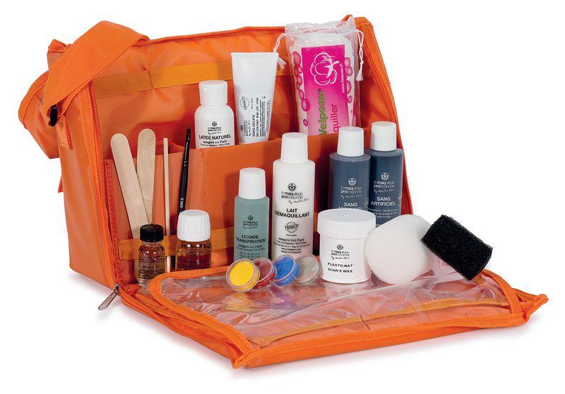 Trousse de maquillage de secourisme SST - PSC1