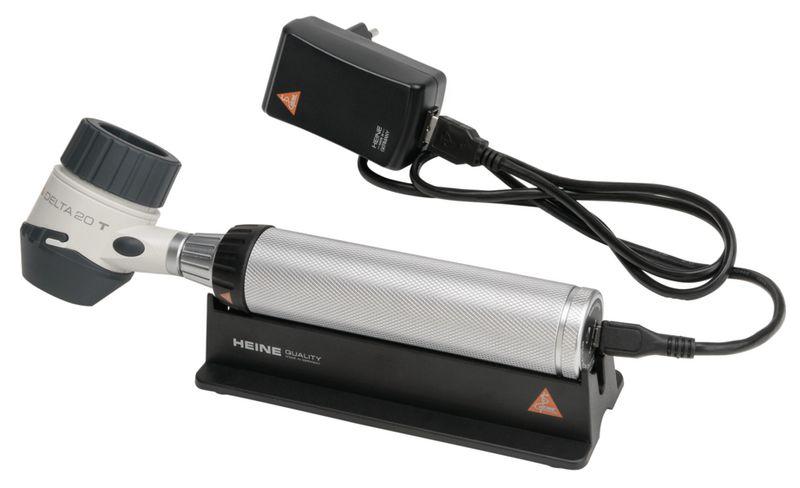 Dermatoscope Heine Delta 20T poignée à piles Beta 2,5 V