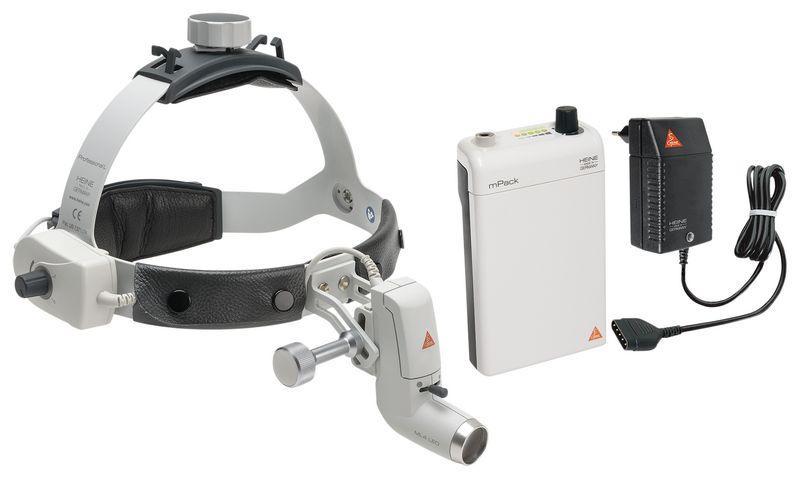 Lampe frontale Heine ML4 LED avec loupe binoculaire