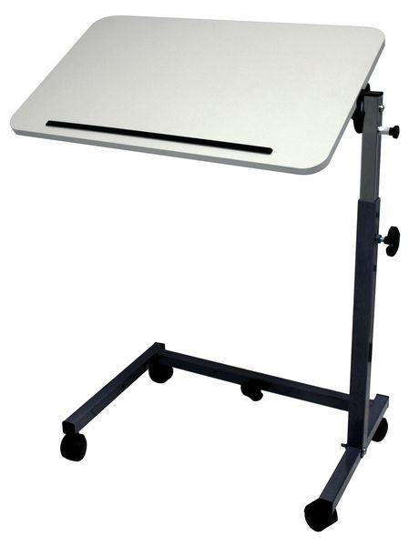 Table de lit et de fauteuil avec piètement cintré en U