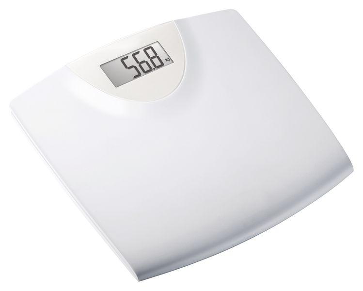 Pèse-personne électronique avec plateau plastique