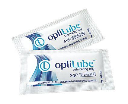 Gel lubrifiant stérile Optilube en sachets unidoses 5 g