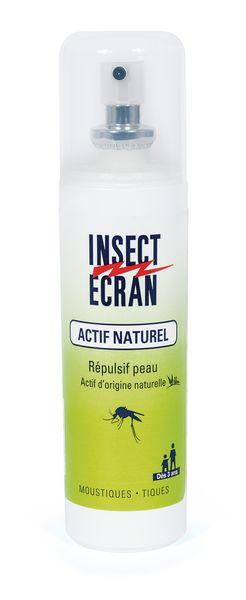 Insect Ecran actif naturel contre moustiques et tiques