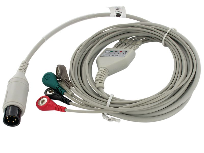 Câble ECG pour moniteur de signes vitaux Vital-Snet