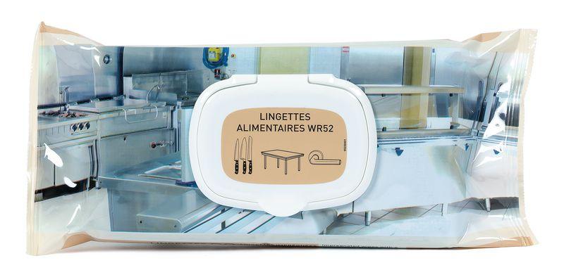 Lingettes alimentaires désinfectantes WR52 Anios