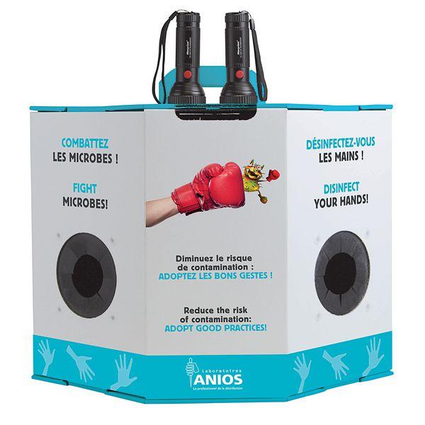 Caisson pédagogique hygiène des mains Eco Anios