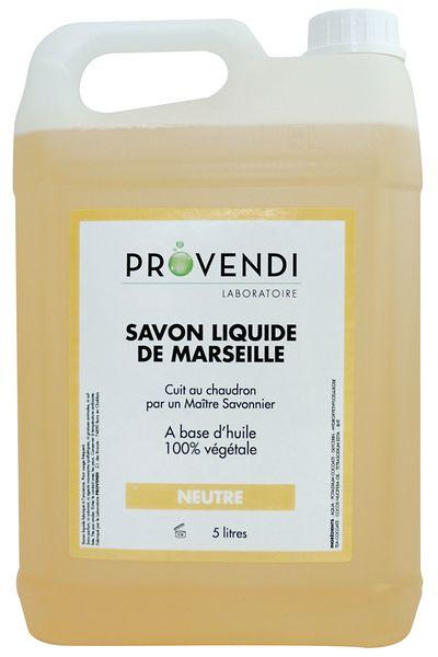 Savon de Marseille liquide neutre 300 ml ou 5 L