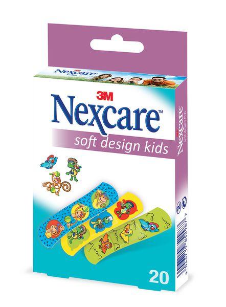 Pansements enfants Nexcare™ 3M motifs animaux