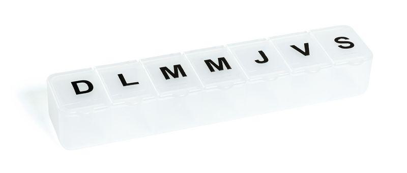 Pilulier semainier 7 compartiments