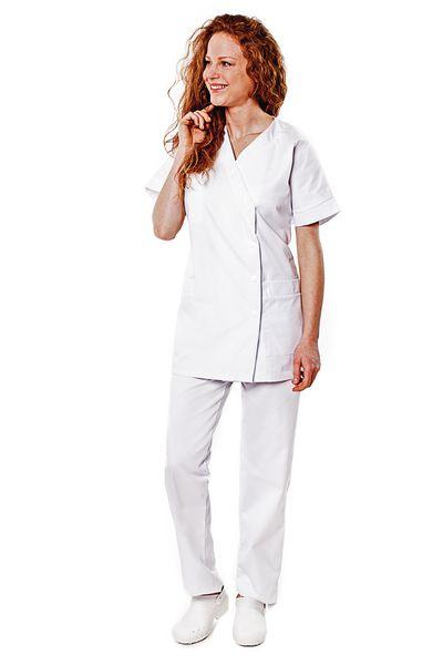Tunique médicale femme blanche Timme