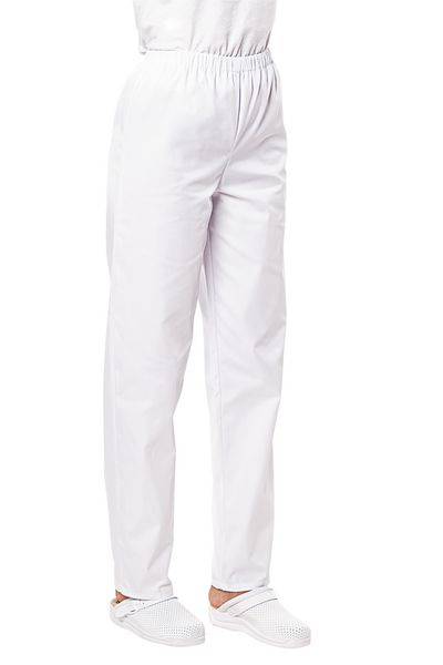 Pantalon médical mixte blanc Pliki