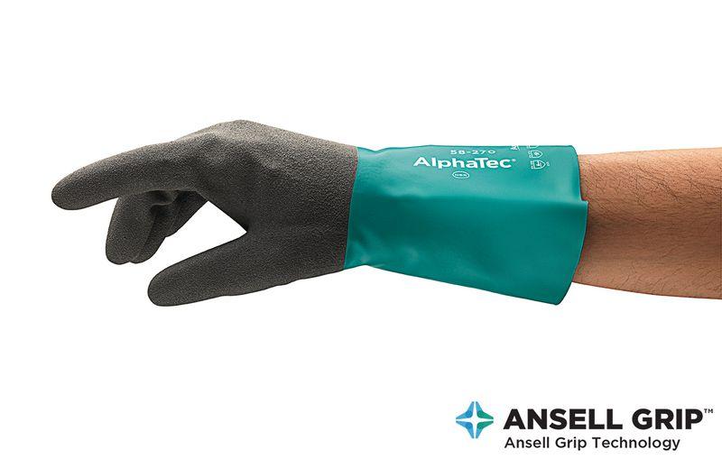 Gants de protection chimique AlphaTec 58-270
