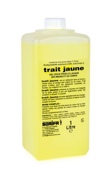 Gel nettoyant Trait jaune