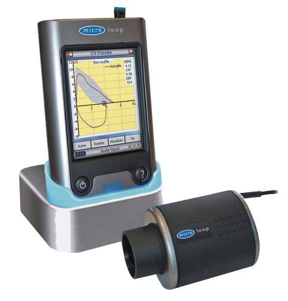 Microloop spiromètre ambulatoire