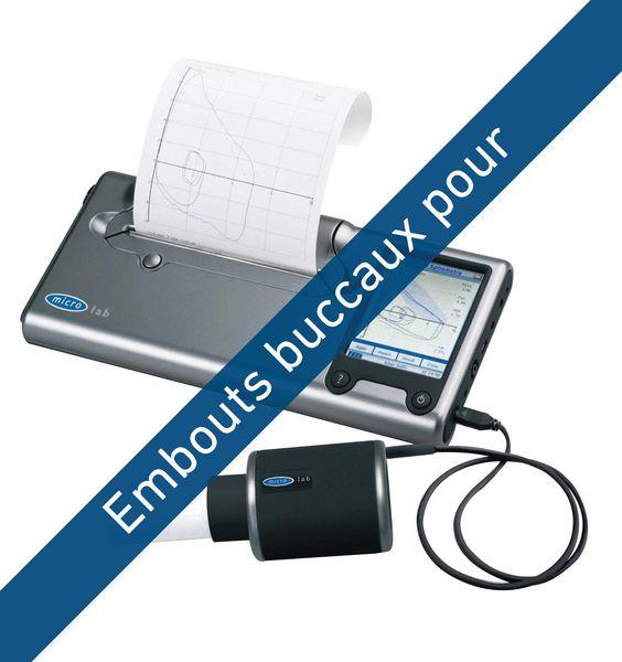 Embouts buccaux pour spiromètre Microlab