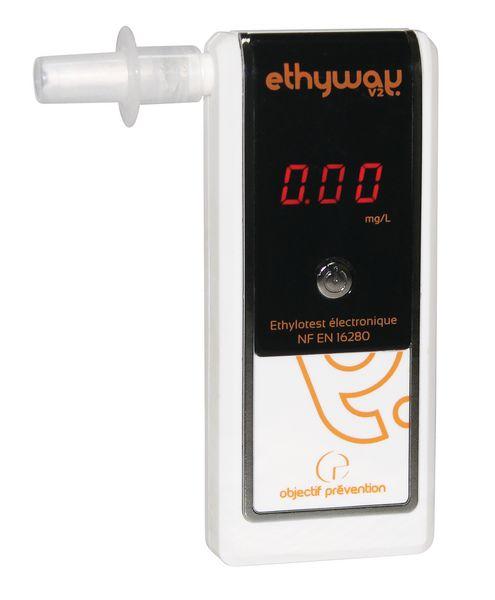 Ethylotest électronique Ethyway V2 NF