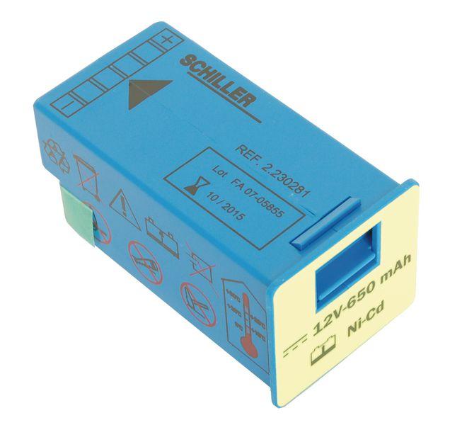 Batterie lithium défibrillateur FRED® Easy Schiller