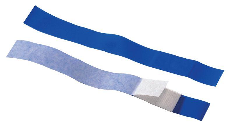 Pansements longs Sécuridoigt bleus détectables